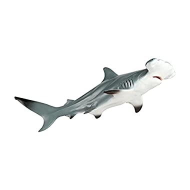 Yiju Realistic Marine Life Shark Action Figures Hand-Painted Miniature Animals Model Toy Playset Collection Gifts for…
