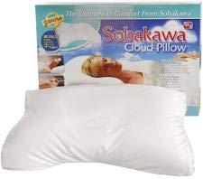 "Sobakawa Cloud Pillow 12.6"" x 18.5"" x 3.15"" (Two Pack)"