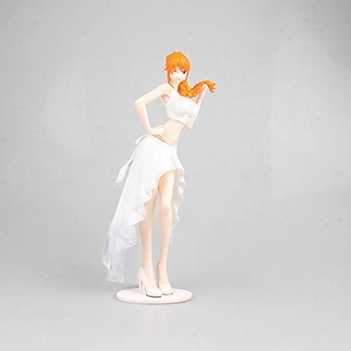 RUIXUE One Piece/Nami/Vestido de Novia/Modelo de Personaje de Anime/Estatua de Figura de Material de PVC/Coleccionables Favoritos para los Amantes de los Dibujos Animados/Decoraciones/Ju