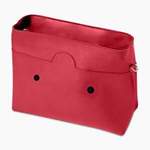 O bag, Borsa Donna, Granatina, Unica