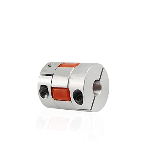 Basic Cellphone Cases Piezas CNC Acoplador de Dos mandíbulas D14L22 D14 L22 Acoplamiento de Eje Flexible de Aluminio para Conector de Motor 6/6.35/8 / 10mm (Inner Diameter : 4x6)