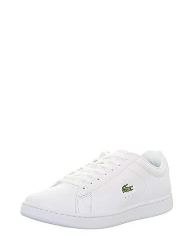 Lacoste Carnaby EVO BL 1 SPM, Zapatillas Hombre, Blanco (White), 45 EU