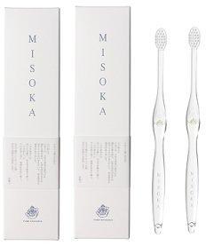 MISOKA(ミソカ) 歯ブラシ 若草色 2本セット