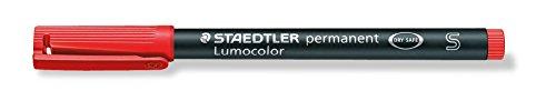 Staedtler Retro Permanent Super Fineliner Pen - Red
