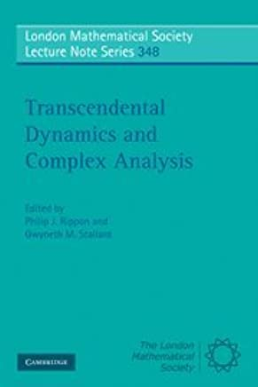 Transcendental Dynamics And Complex Analysis London