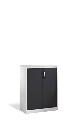 Akten-Sideboard Acurado mit Drehtüren, 3 Ordnerhöhen, H1200xB930xT400mm