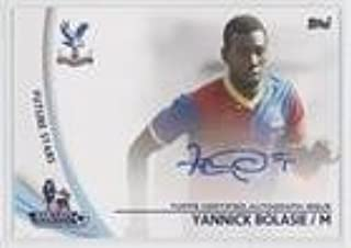 Yannick Bolasie (Trading Card) 2013 Topps English Premier Gold - Star Players #SP-YB