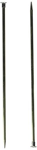 Boye 10-Inch Aluminum Single Point Knitting Needles, Size 8