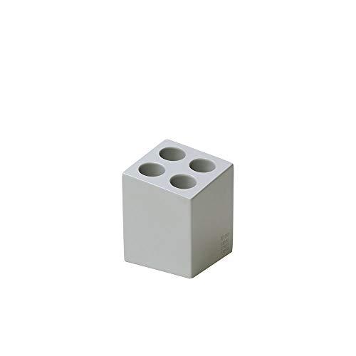 ideaco(イデアコ) 傘立て mini cube(ミニキューブ) 4本挿し アンブレラスタンド マット アッシュグレー