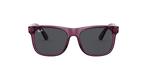 Ray-Ban 0RJ9069S Gafas, TRANSPARENT VIOLET, 48 Unisex