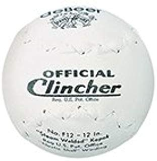 Debeer Official Clincher 12 Inch Trutech Leather Softball