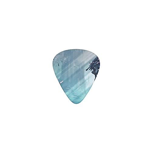 Berserk Púas de guitarra Triángulo Clásico Púas de Guitarra Patrón Nuevo Púas de Guitarra El Regalo Perfecto Guitarrista Para Bajo Guitarras Acústicas Y Eléctricas