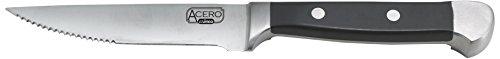 Winco USA 4-Piece Gift Box Set Acero Gourmet Steak Knives, Metal