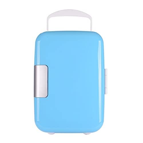 HKLY Minifrigorífico 4L Mini-Coche refrigerador/automóvil con un refrigerador pequeño/portátil de bajo Consumo de Leche de bajo Consumo de Leche, refrigerador, se Puede Calentar