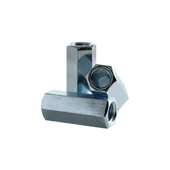 1 Hex Rod Coupling Nut with Zinc Plate Hex Coupling Nut Hex Coupling Nuts 3//4-10 x 2-1//4 Threaded Rod Connector Coupling Nuts 3//4-10 x 2-1//4 Long Coupling Nut