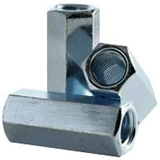 7//16 F x 1-3//4 L 1//4-20 - Qty-25 Coupling Nut Zinc Plated