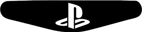 Play Station PS4 Lightbar Sticker Aufkleber Playstation (schwarz)