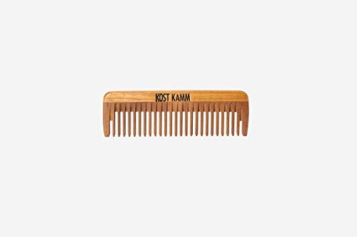 Mini peigne en bois de 10 cm de long