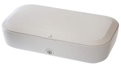 Northpoint UV Desinfektionsbox mit integriertem drahtlosem Ladegerät UV-Sanitizer Sterilisator Wireless Charger UV-C LED