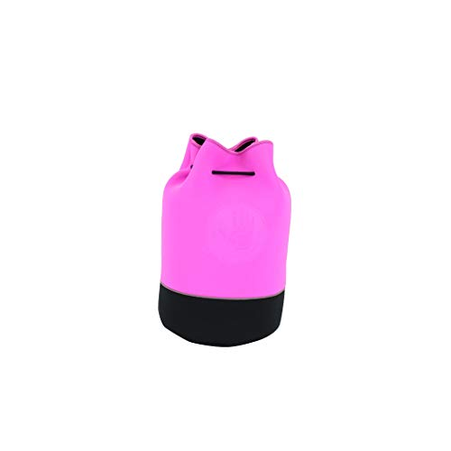 Body Glove Offshore Drawstring Bucket Tote-Pink/black, One Size