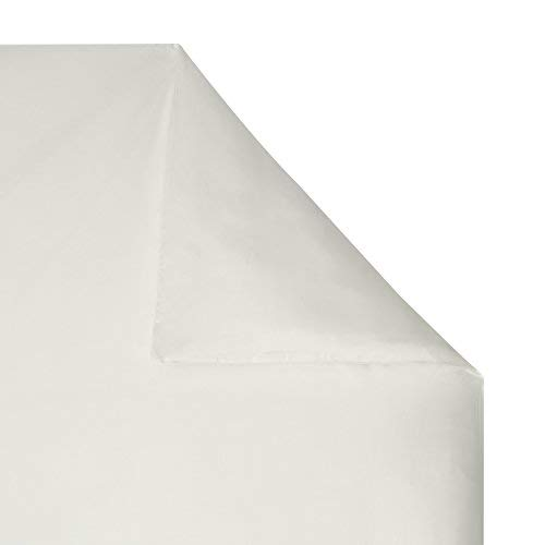 100% Bamboo Bed Linen - Luxury Duvet Cover - Double (Natural White)