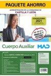 Paquete Ahorro Auxiliar Administrativo de Castilla y León. Ahorra 51 € (incluye Temarios 1 y 2; Test; Simulacros de examen del primer ejercicio; ... segundo ejercicio; acceso gratis a Curso Oro)