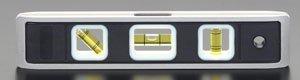 エスコ 230mm水平器(蓄光フレーム/マグネット付) EA721JM-1