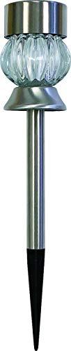トレードワン(Trade One) センサーライト ホワイト&レインボー 30534 ソーラーガーデングラスライト ジェムタイプ