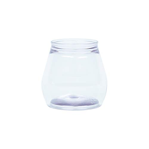 StackTek - Small Wine Glasses, Stackable & Stemless, Re-sealable & Shatterproof, 12-pack, (7 oz)