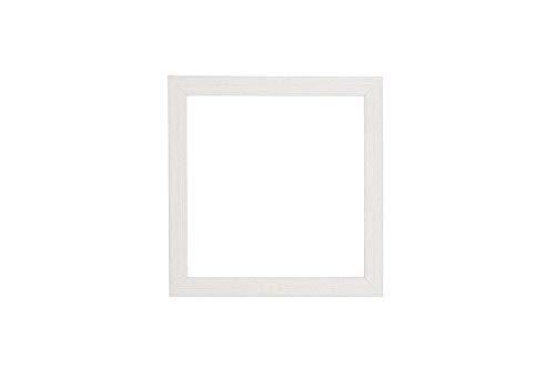 Instagram Quadratischer 3D Deep Box Frame Range Bilder/Foto- / Posterrahmen, mit MDF-Rückwand, Plexiglas, weißer Rahmen, 40,6 x 40,6 cm