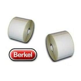 Thermoetiketten 58 x 58mm für Berkel 20 Rollen 10.000 Etiketten
