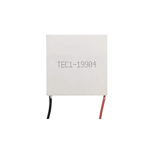 FEIYI Andere Modulplatine TEC1-19904 40 x 40 mm DC 24 V Halbleiter-Kühlschip, Hochleistungs-4 A Kühler, Kühlschrank und Gefrierschrank