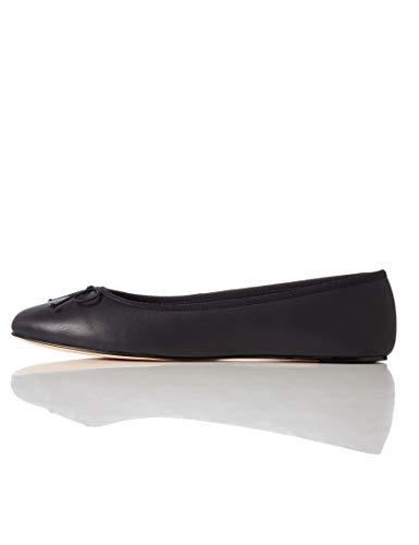 Find. Leather Ballet Pump Bailarinas