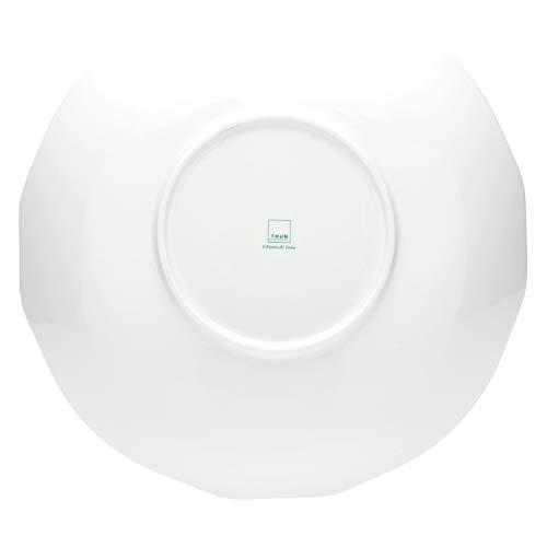 THUN ® - Piatto - Linea Chiaro di Luna - Multiuso Grande - Porcellana - Ø Interno 38 cm