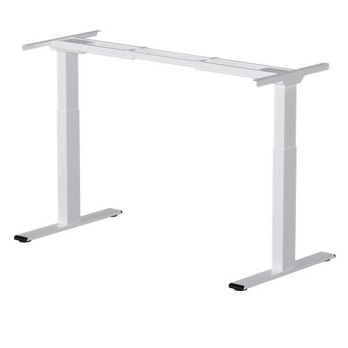 Flexispot EB2W Höhenverstellbarer Schreibtisch Elektrisch höhenverstellbares Tischgestell, passt für alle gängigen Tischplatten. Mit Memory-Steuerung und Softstart/-Stop