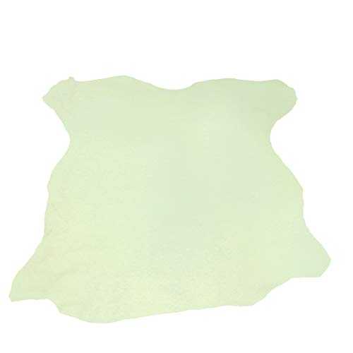 Glacier Wear First Quality Elk Leather - Nappa Top Grain (Early Green) (13.00 to 13.75 sq ft)
