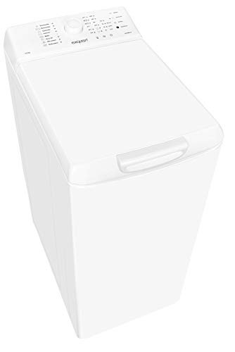 Exquisit Waschmaschine LTO 1006-18 | Toplader |5.5 kg Fassungsvermögen |weiß