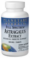 Full Spectrum Astragalus Extract Planetary Herbals 120 Tabs