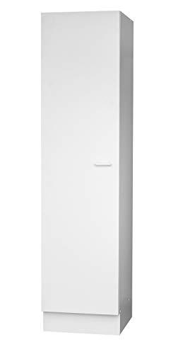 Nicht Zutreffend Hochschrank Seitenschrank Küchenschrank | Weiß | 1 Tür