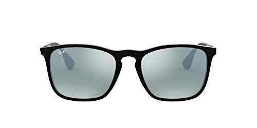 Ray-ban 4187 601/30 Occhiali Da Sole Montatura Nera/Canna Di Fucile Lente a Specchio