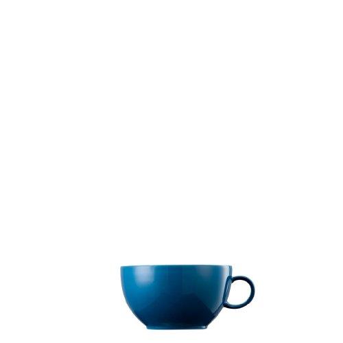 Thomas Rosenthal Sunny Day Cappuccino Obertasse - Petrol - Blau 380 ml