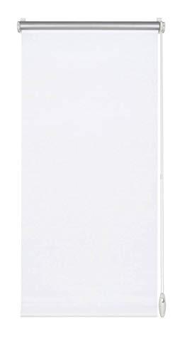 Yoursol Verdunkelungsrollo EasyFix 120x150 cm, Weiß, ohne Bohren, Verdunklungsrollo, Thermorollo, Seitenzugrollo, Klemmrollo für Fenster und Tür