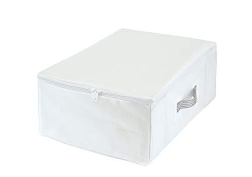 東和産業 収納袋 MSC すきま収納 クローゼット ホワイト 衣類用 85692