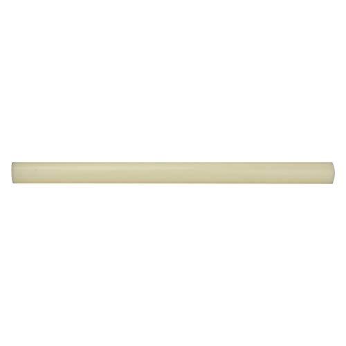 Varilla de nylon redonda de plástico, alta calidad Varilla de nylon redonda de plástico Barra blanca Barra de 20/35 mm de diámetro Longitud de 500 mm(35 * 500mm)
