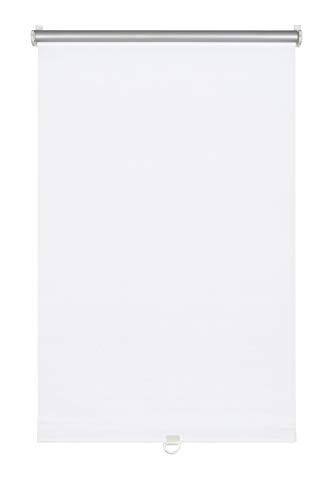 GARDINIA Soft-Rollo Thermo zum Klemmen, Höchste Lichtreflektion, Energiesparend, Lichtundurchlässig, Alle Montage-Teile inklusive, Weiß, 45 x 150 cm (BxH)