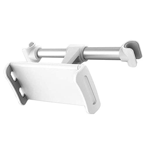 FKSDHDG Soporte de teléfono para asiento trasero de 360 grados ajustable multi-ángulo para tableta de teléfono, soporte de aluminio, para uso en coche, hogar (color: B)