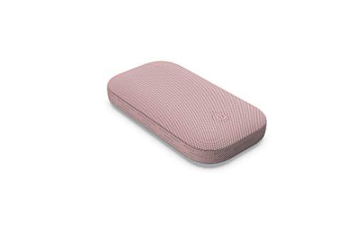 Lexon Power Power - Batería externa de inducción con altavoz Bluetooth 360º, color rosa