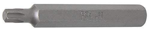 BGS 4572   Punta   longitud 75 mm   entrada 10 mm (3/8')   perfil en T (para Torx) T40