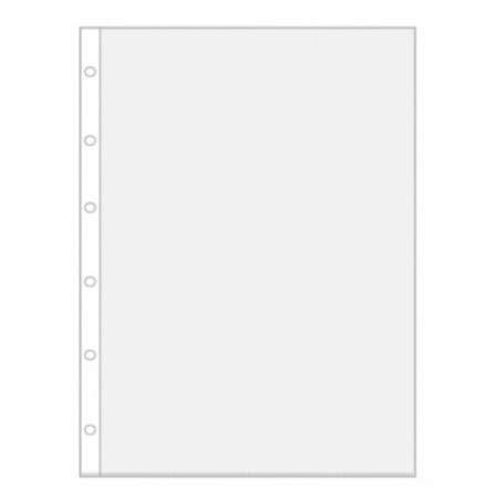 10x Katex Stammbuchhüllen für Standard Stammbücher&Urkunden Klarsichthüllen mit 6-Fach Lochung