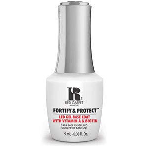 RC Red Carpet Manicure Fortify & Protect LED Gel, Base Coat
